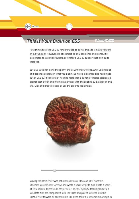CSS 3D